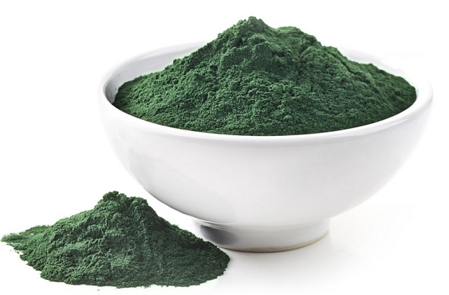 Image of a green powder in a bowl