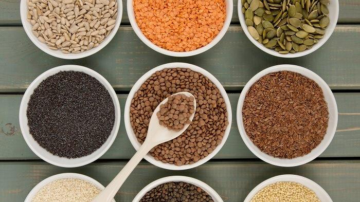 Semillas para hacer dieta