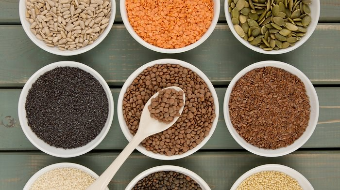Super alimentos semillas