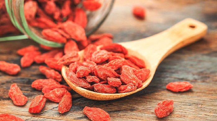 Superalimentos frutos bayas goji