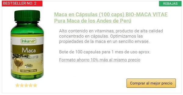 maca andina 100 capsulas