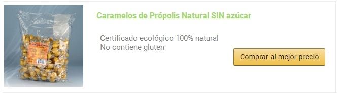 caramelos de propolis natural propolmel