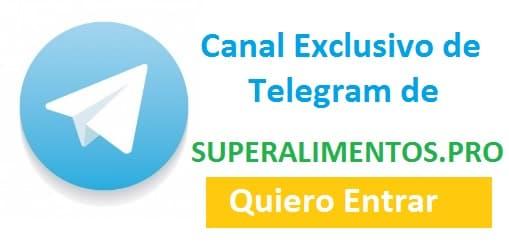 Canal Telegram Superalimentos Pro