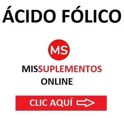 Ácido Fólico Mis Suplementos Online