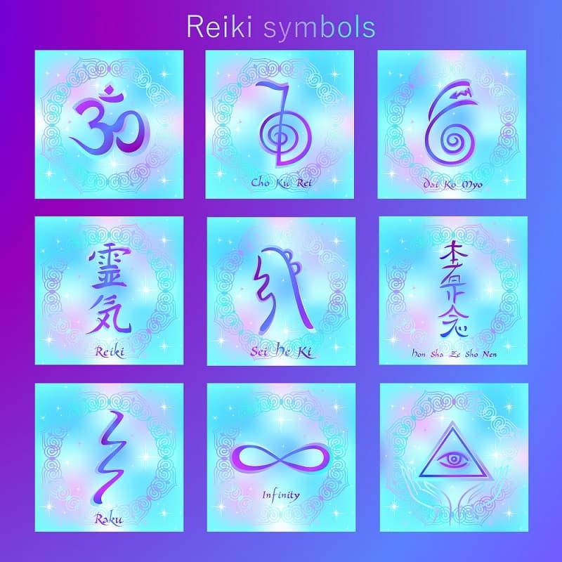 Simbolos del reiki