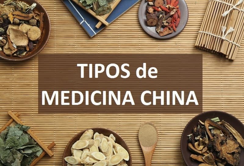 Tipos de medicinas china alternativa
