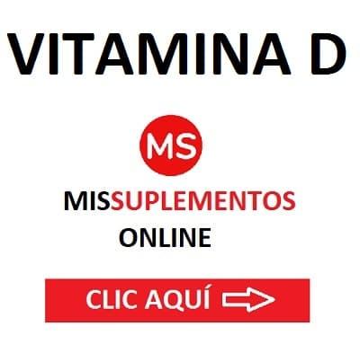 Vitamina D MisSuplementos Online